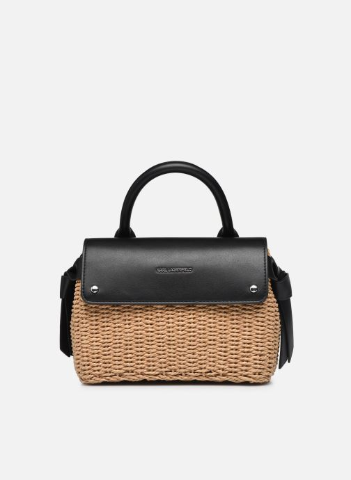 K/Ikon Raffia Mini Top Handle
