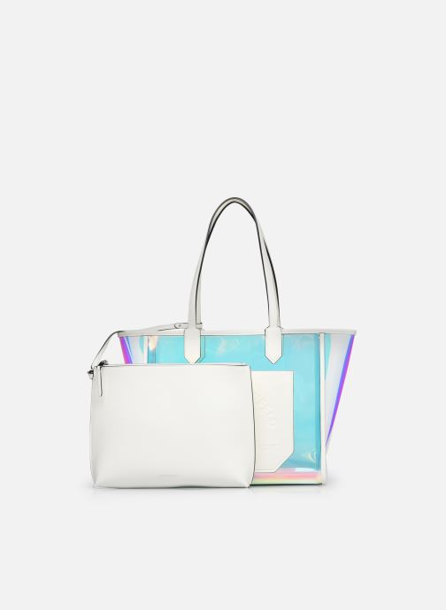 Borse Karl Lagerfeld K/Journey Hologram Tote Argento immagine sinistra