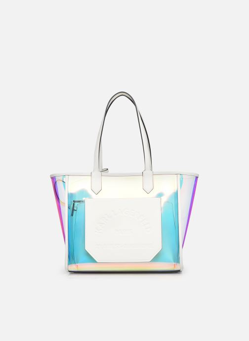 Borse Karl Lagerfeld K/Journey Hologram Tote Argento vedi dettaglio/paio