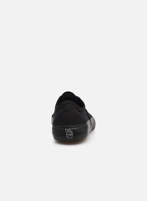 Sneaker Element Passiph - Coton bio / Semelle recyclée - schwarz ansicht von rechts