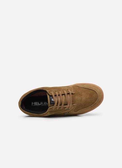 Sneaker Element Topaz C3 - Coton bio / Semelle recyclée - braun ansicht von links