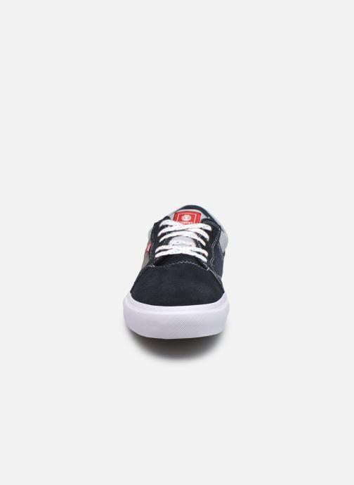 Sneaker Element Wasso - Coton bio / Semelle recyclée - blau schuhe getragen