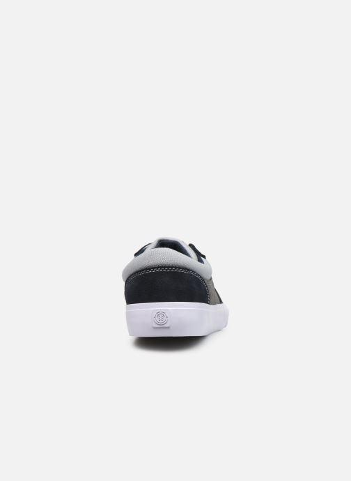Sneaker Element Wasso - Coton bio / Semelle recyclée - blau ansicht von rechts