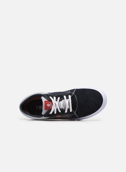 Sneaker Element Wasso - Coton bio / Semelle recyclée - blau ansicht von links