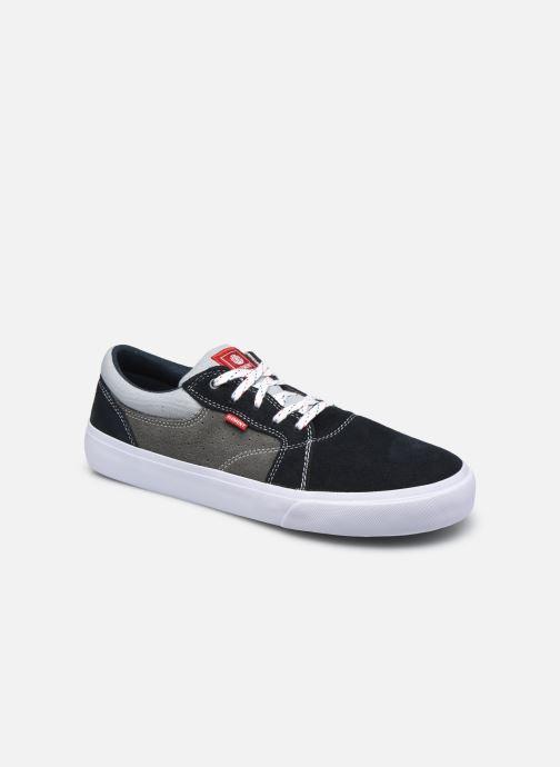 Sneaker Element Wasso - Coton bio / Semelle recyclée - blau detaillierte ansicht/modell