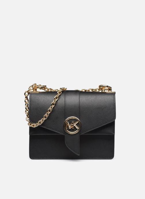 Handtassen Michael Michael Kors GREENWICH SM CONV XBODY Zwart detail