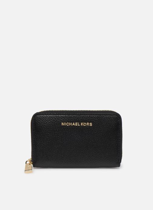 Petite Maroquinerie Michael Michael Kors JET SET SM ZA CARD CASE Noir vue détail/paire