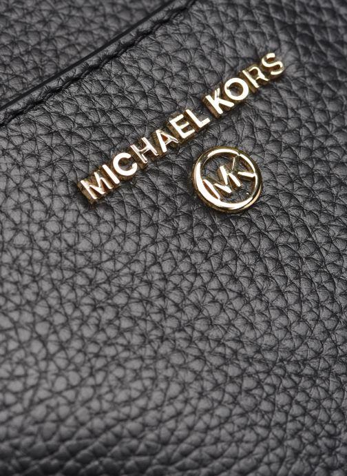 Borse Michael Michael Kors JET SET CHARM MD TZ POUCHETTE XBODY Nero immagine sinistra