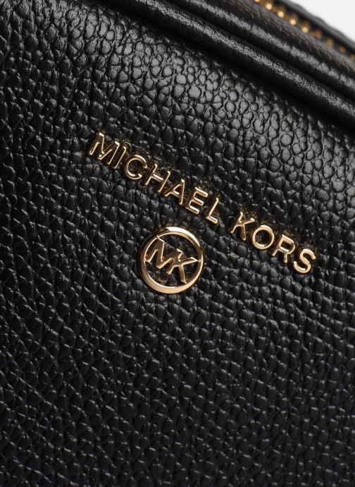 Borse Michael Michael Kors JET SET CHARM SM OVAL CMRA XBODY Azzurro immagine sinistra