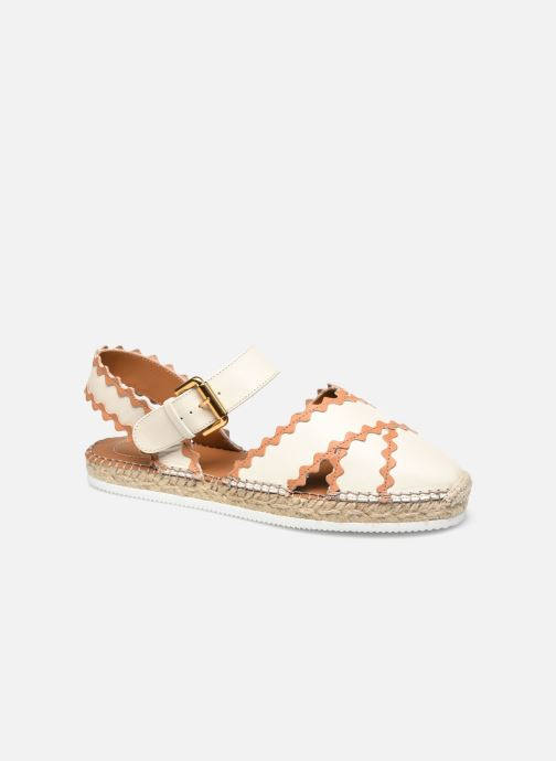 Espadrilles See by Chloé Glyn Flat 2 Wit detail
