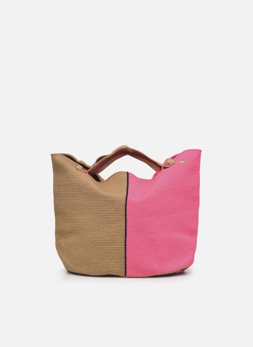 Borse Guanabana Rapsody Bag Stingray Rosa immagine frontale