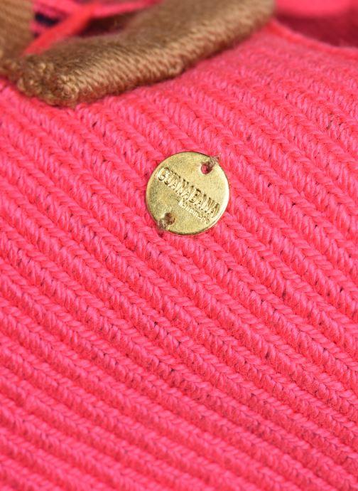 Handtaschen Guanabana Rapsody Bag Stingray rosa ansicht von links