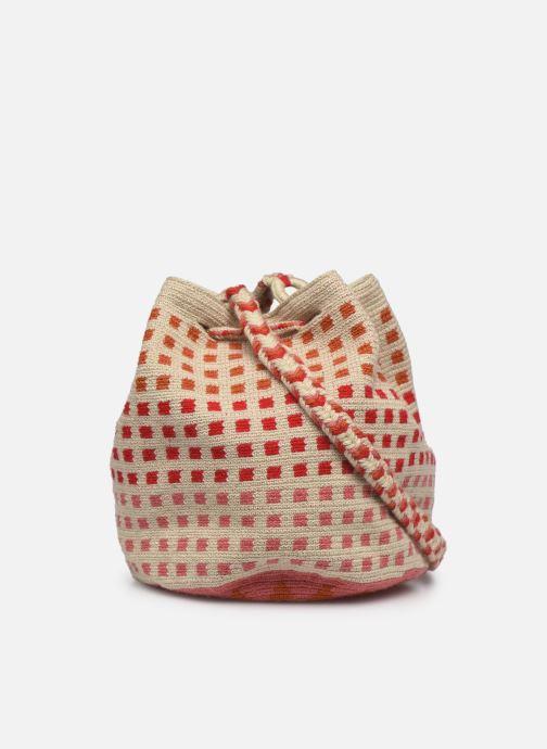 Handtaschen Guanabana Medium Buckect bag Molly rosa ansicht von vorne
