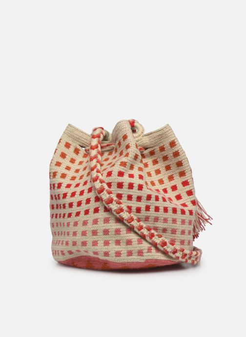 Handtaschen Guanabana Medium Buckect bag Molly rosa ansicht von rechts