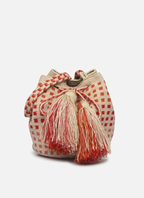 Handtaschen Guanabana Medium Buckect bag Molly rosa detaillierte ansicht/modell