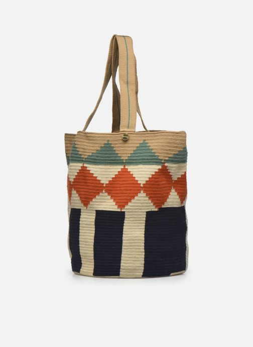 Borse Guanabana Tote bag Murrel Beige modello indossato