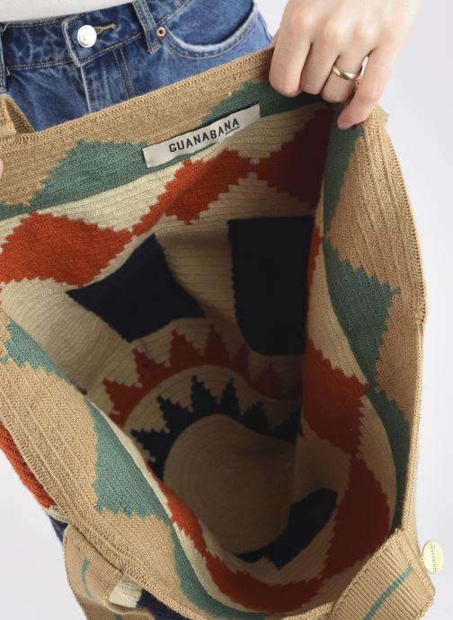 Handtaschen Guanabana Tote bag Murrel beige ansicht von hinten