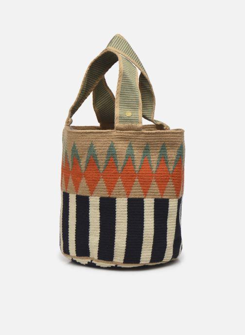 Handtaschen Guanabana Noa Bag Murrel beige schuhe getragen