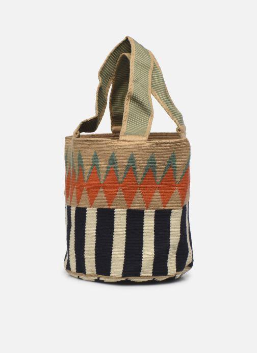 Handtaschen Guanabana Noa Bag Murrel beige ansicht von rechts