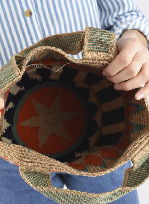 Handtaschen Guanabana Noa Bag Murrel beige ansicht von hinten