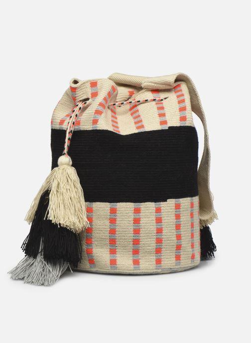 Borse Guanabana Enid Bag Damsel Beige modello indossato