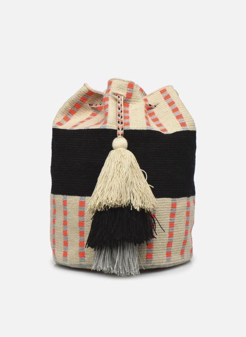 Handtaschen Guanabana Enid Bag Damsel beige ansicht von vorne