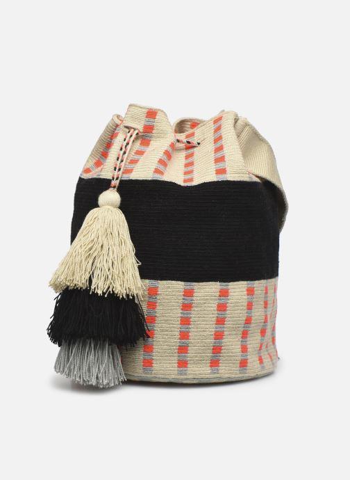 Handtaschen Guanabana Enid Bag Damsel beige ansicht von rechts