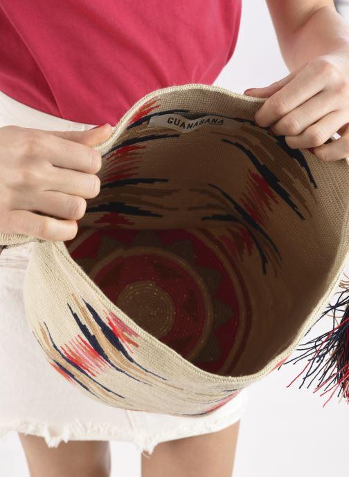Handtaschen Guanabana Nina Bag Scallare beige ansicht von hinten