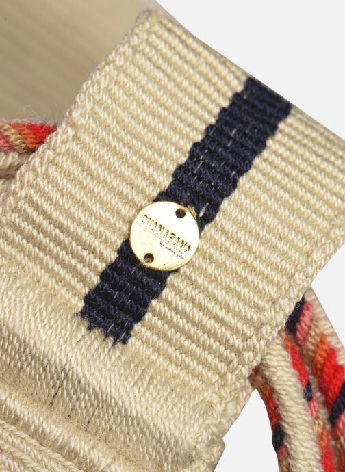 Handtaschen Guanabana Nina Bag Scallare beige ansicht von links