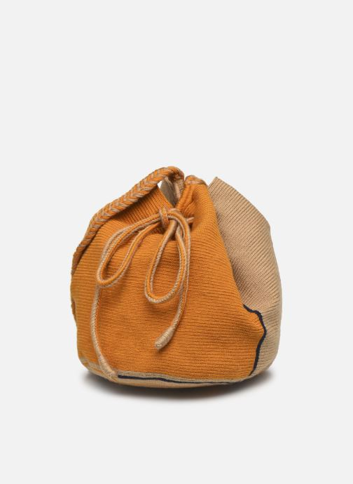 Handtaschen Guanabana Ami Bag Stingray gelb schuhe getragen
