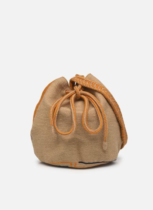 Handtaschen Guanabana Ami Bag Stingray gelb ansicht von vorne