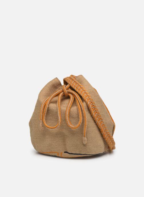 Handtaschen Guanabana Ami Bag Stingray gelb ansicht von rechts