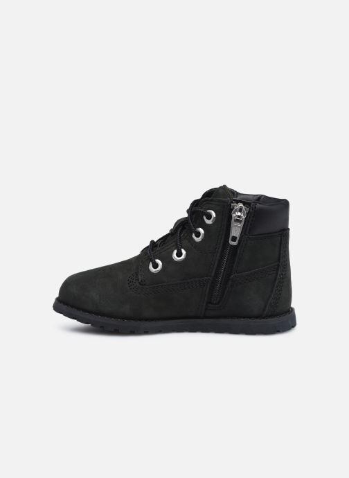 Boots en enkellaarsjes Timberland Pokey Pine 6In Boot Black Zwart voorkant