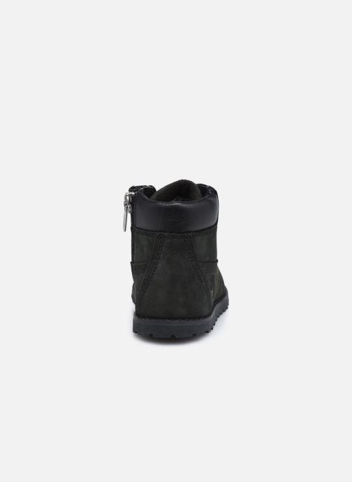 Boots en enkellaarsjes Timberland Pokey Pine 6In Boot Black Zwart rechts