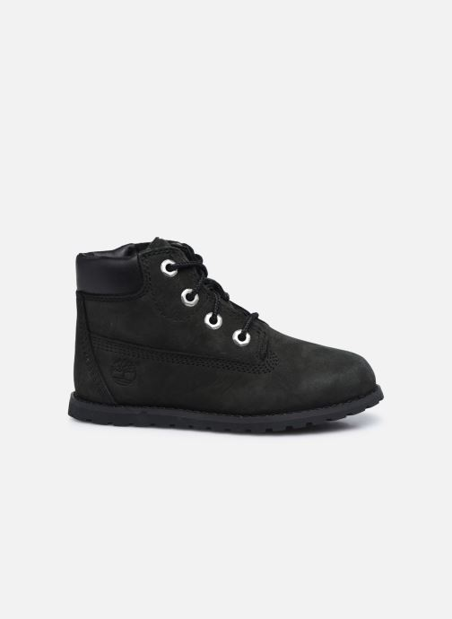 Boots en enkellaarsjes Timberland Pokey Pine 6In Boot Black Zwart achterkant