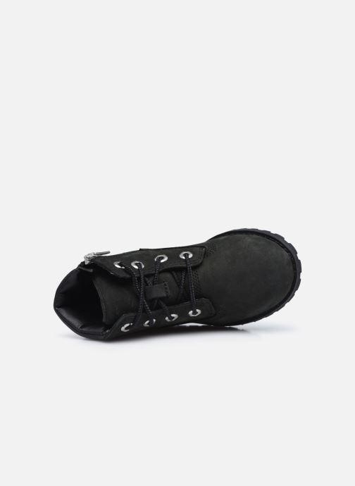 Boots en enkellaarsjes Timberland Pokey Pine 6In Boot Black Zwart links