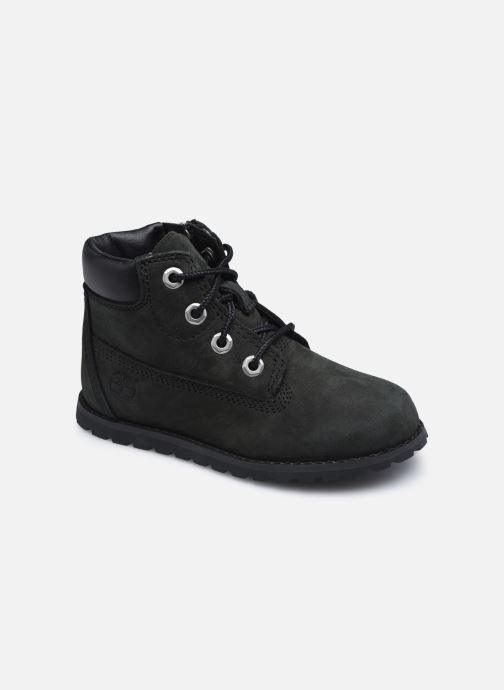 Boots en enkellaarsjes Timberland Pokey Pine 6In Boot Black Zwart detail