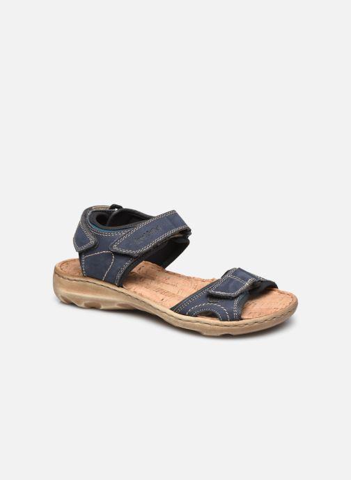 Sandales et nu-pieds Josef Seibel Lene 01 Bleu vue détail/paire