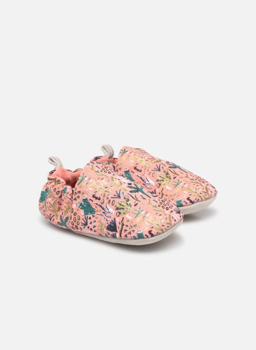 Chaussons Poco Nido Barrier Reef Rose vue détail/paire