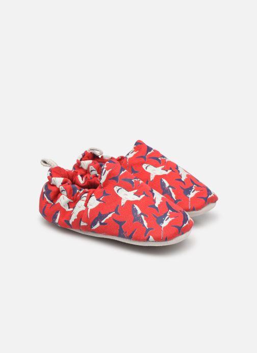 Hausschuhe Poco Nido Sharks rot detaillierte ansicht/modell
