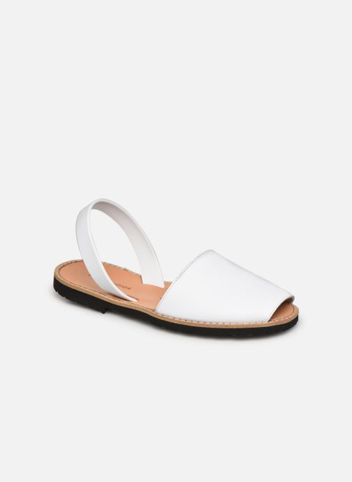 Avarca Cuir Blanco / Avarca Leather Blanco