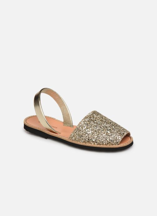 Sandalen Damen Avarca Paillettes Oro