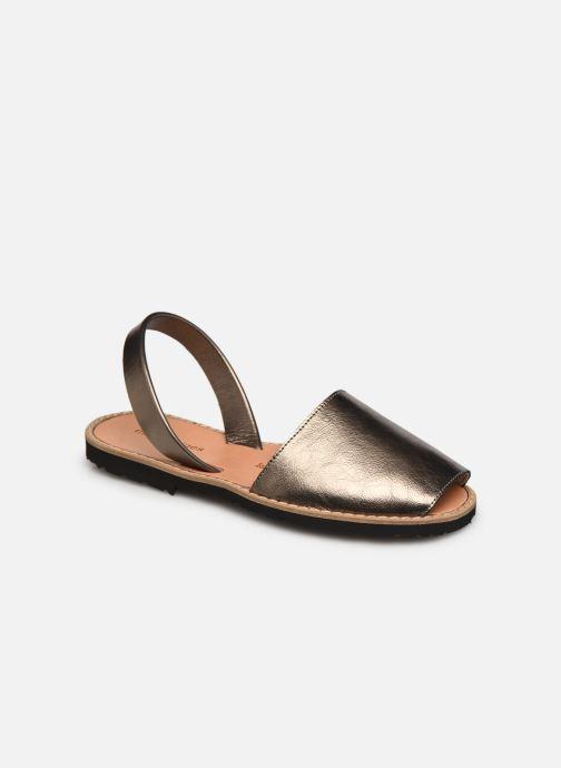 Sandalen Damen Avarca Métal Bronce