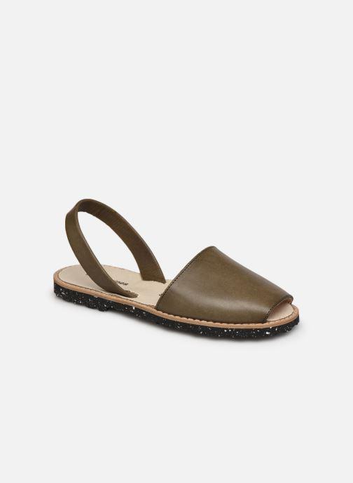 Sandales et nu-pieds Femme Avarca Eco Cuir Kaky