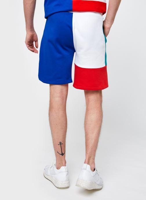 Vêtements Ellesse Rothko Short M Blanc vue portées chaussures