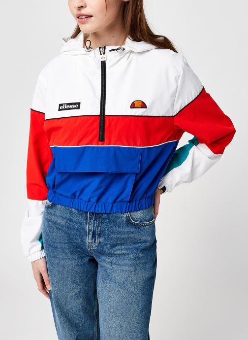 Vêtements Ellesse Vallea Oh Jakket W Blanc vue droite