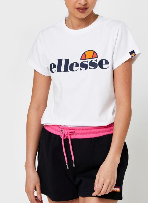 Abbigliamento Ellesse Hayes Tee W Bianco vedi dettaglio/paio