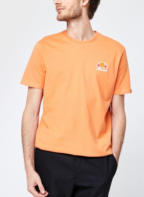Vêtements Ellesse Canaletto Tee M Orange vue détail/paire