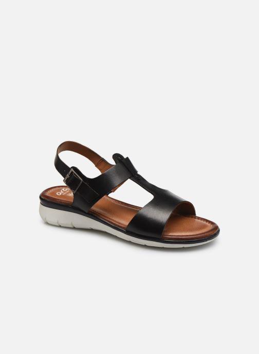 Sandalen Ara Kreta schwarz detaillierte ansicht/modell