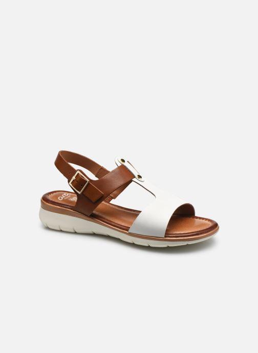 Sandales et nu-pieds Ara Kreta Blanc vue détail/paire